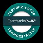 TeamworksPLUS Siegel zertifizierter Teamgestalter